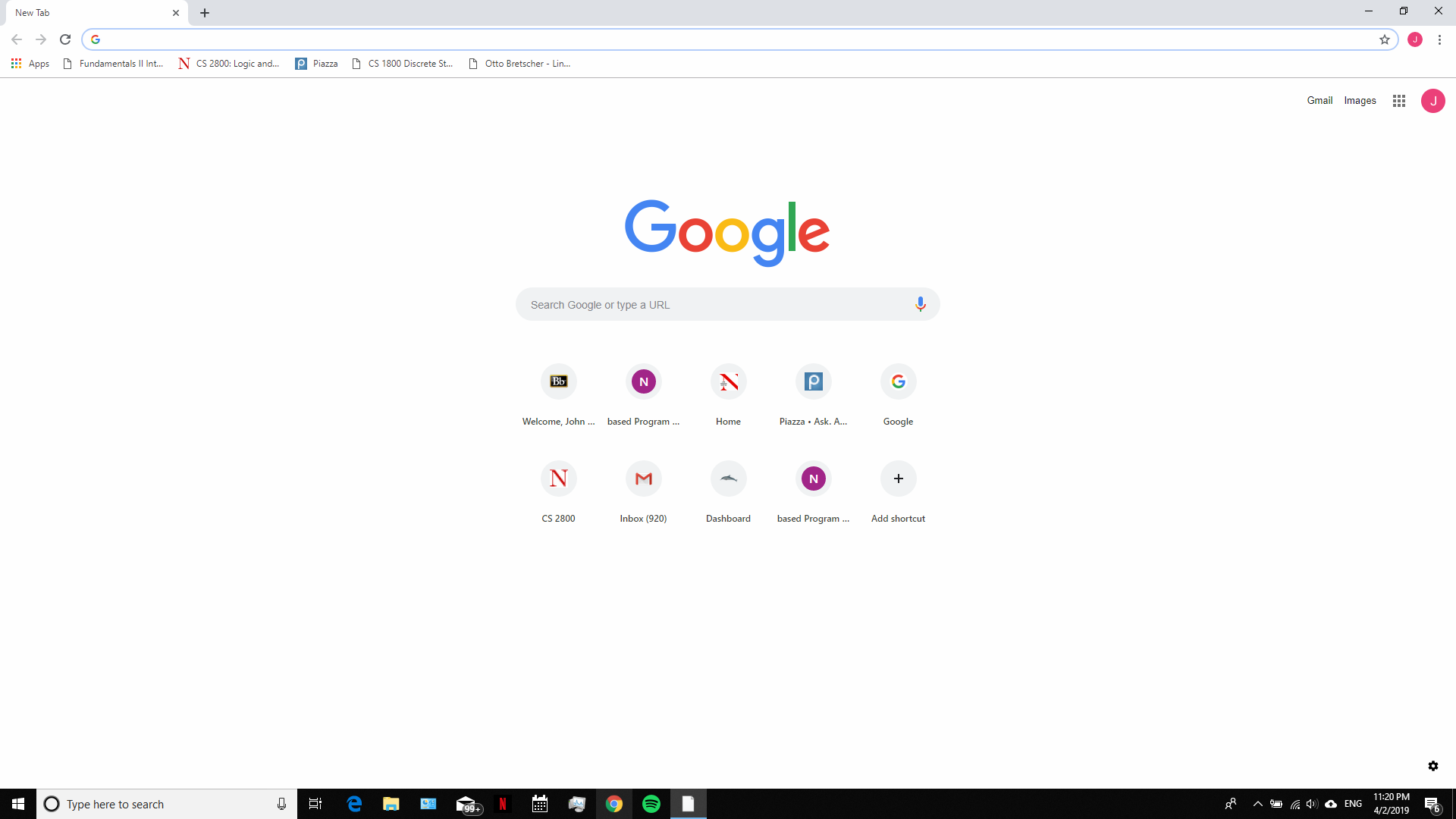 When I open Chrome, it opens with a weird icon - Google