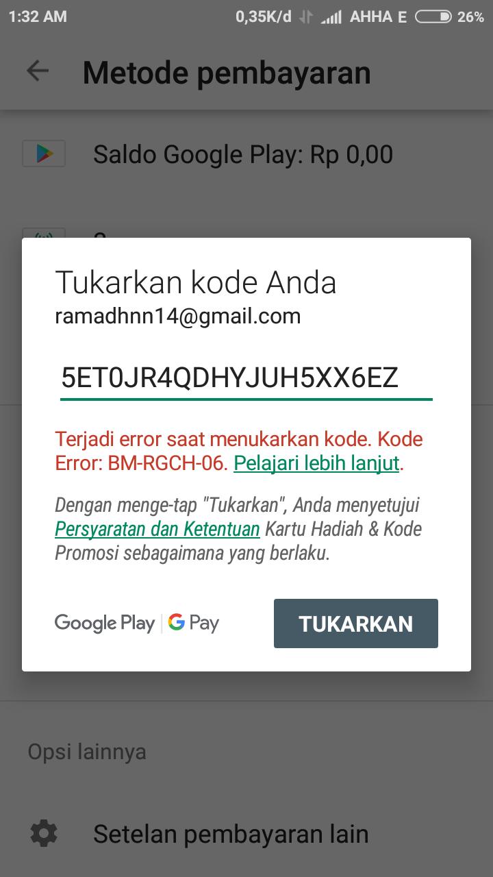 Metode pembayaran yang diterima di Google Play - Malaysia - Bantuan Google Play