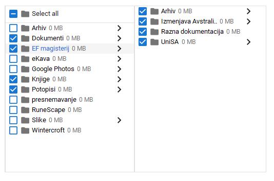 Backup and sync 0 mb folders - Google Photos Help