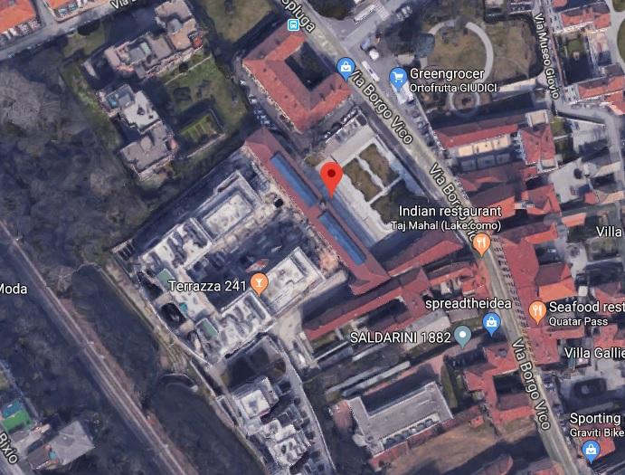 Satellite View In Como Italy Google Maps Help