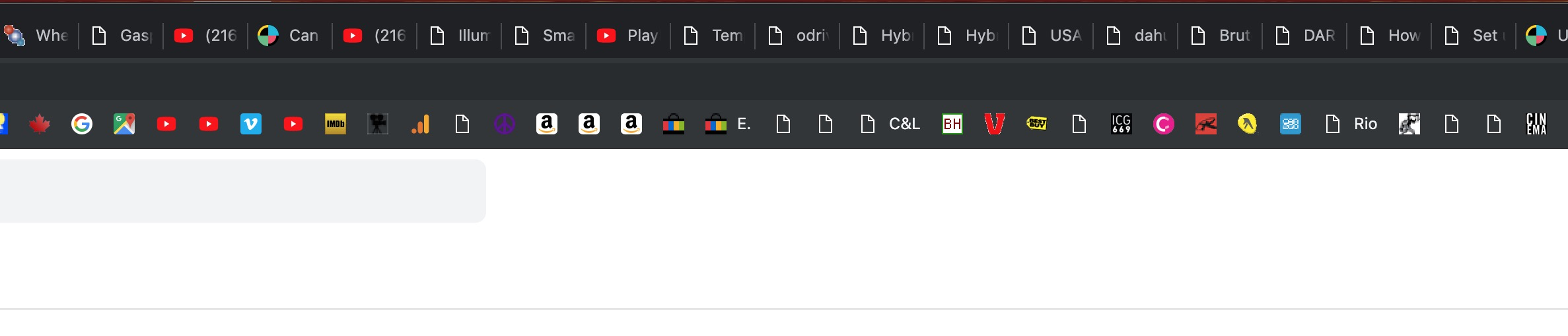 My icons in Chrome window only show as empty square    - Google