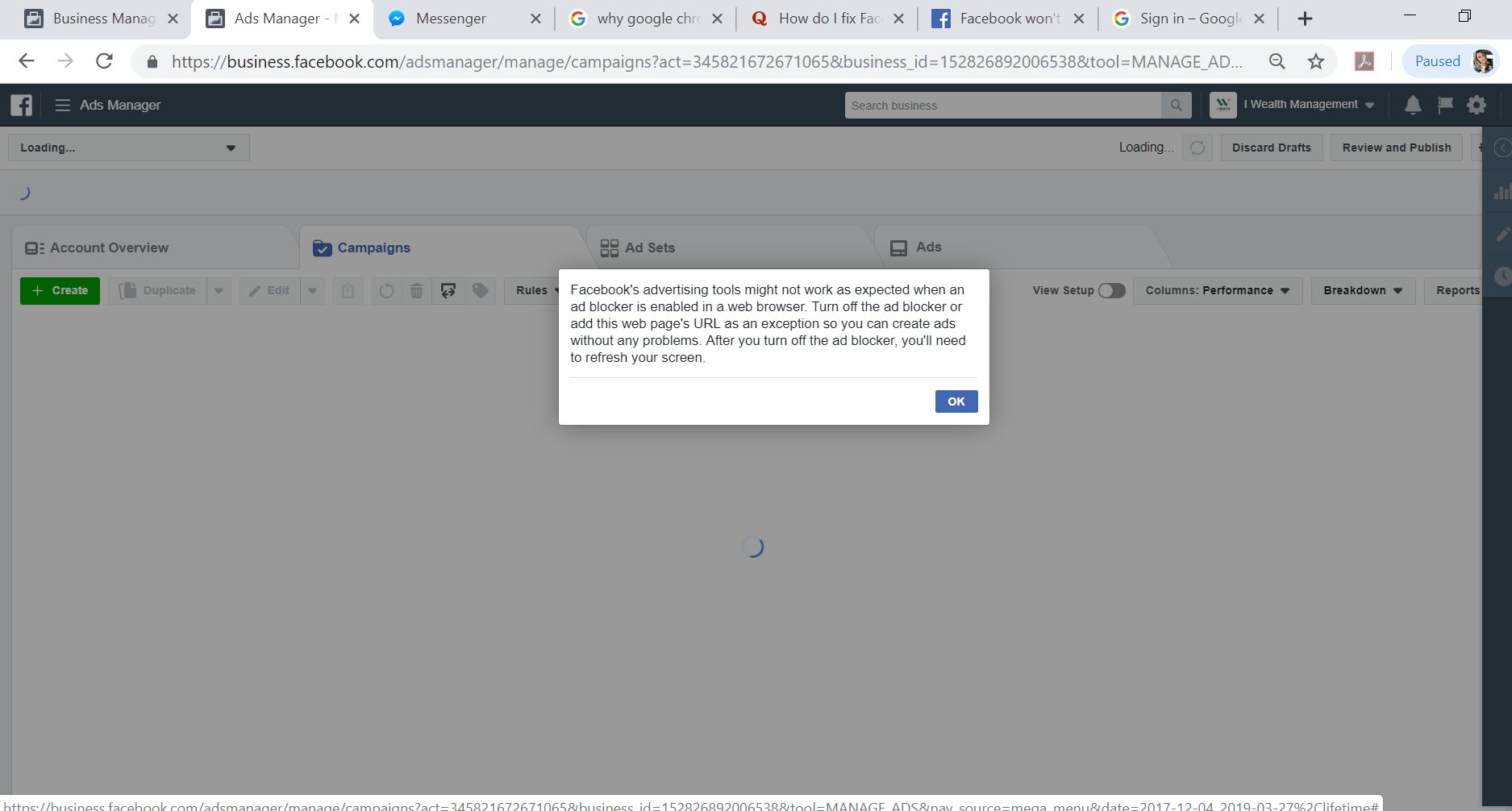 How To Enable The Facebook Business Manager Url On Google Chrome Google Chrome Community