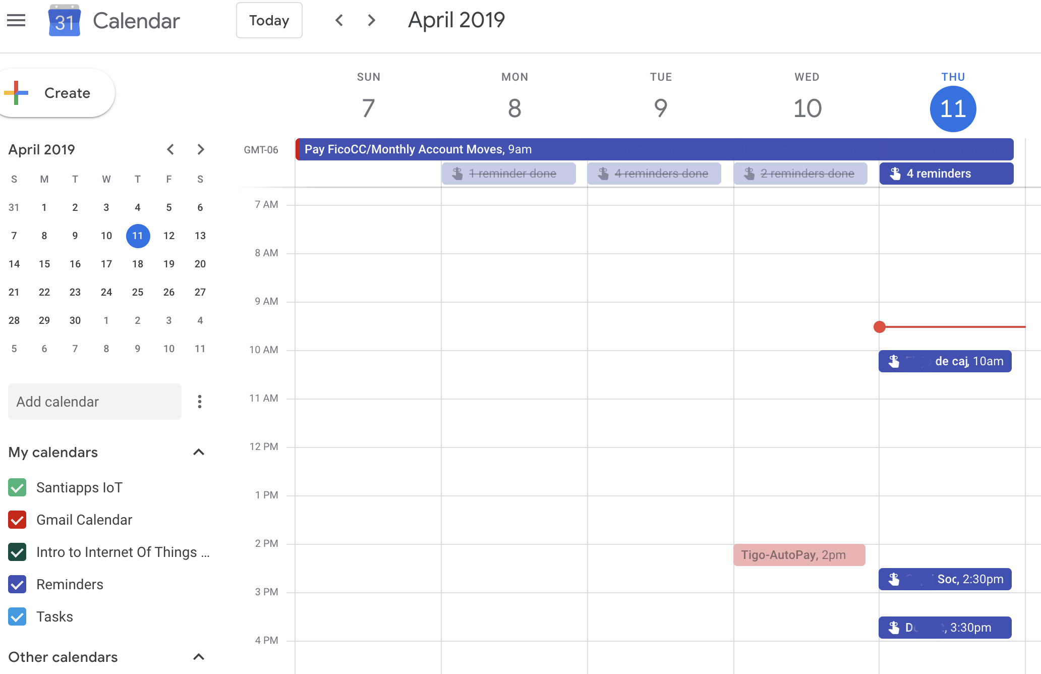 Calendar Gmail.Gmail Calendar Sidebar Doesnt Display Reminders Gmail Help