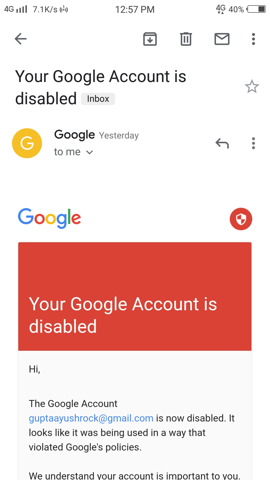 I can't sign in in my google play account sir please help me - Google  Account Community