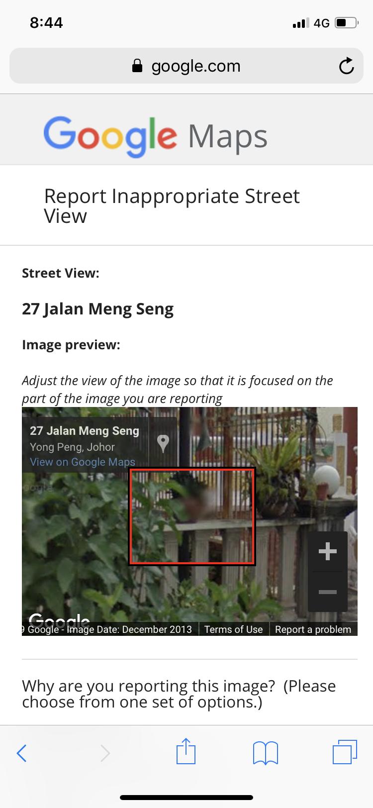 Original Street View Photo Google Maps Help