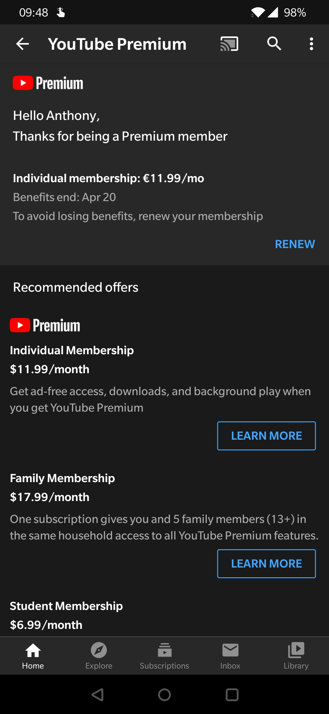 Membership youtube cancel Cancel, pause,