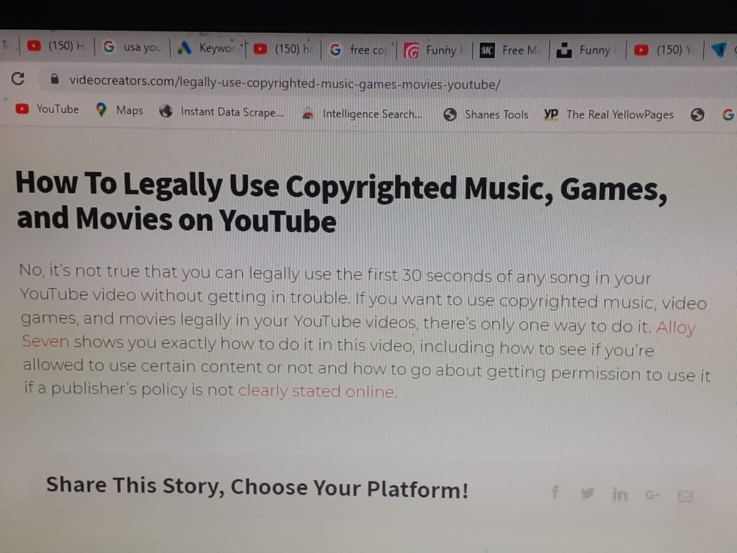 Can I Use The First 30 Seconds Of Any Copyright Music Gaming And Movies On My Youtube Channel Youtube Community