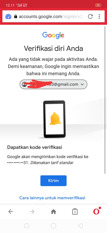 Gnti Sandi Tapi Perlu Verif Sms Nomor Hp Dan Itu Bukan Nomor Hp Saya Padahal Sudah Saya Ganti Komunitas Akun Google