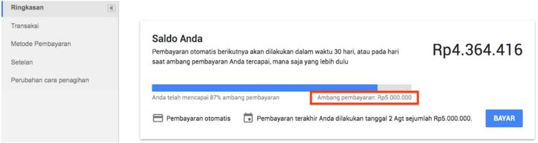 Penagihan Metode Pembayaran Google Ads Komunitas Google Ads