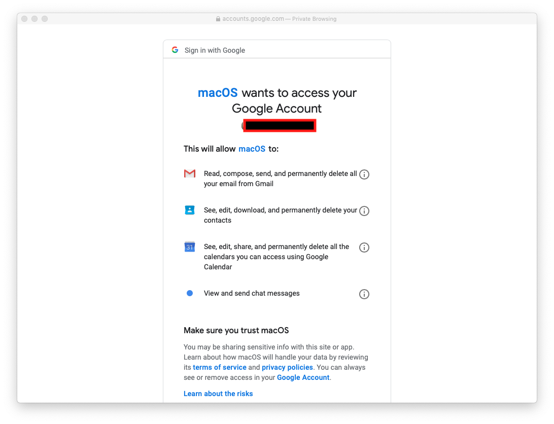 Gmail client for mac os