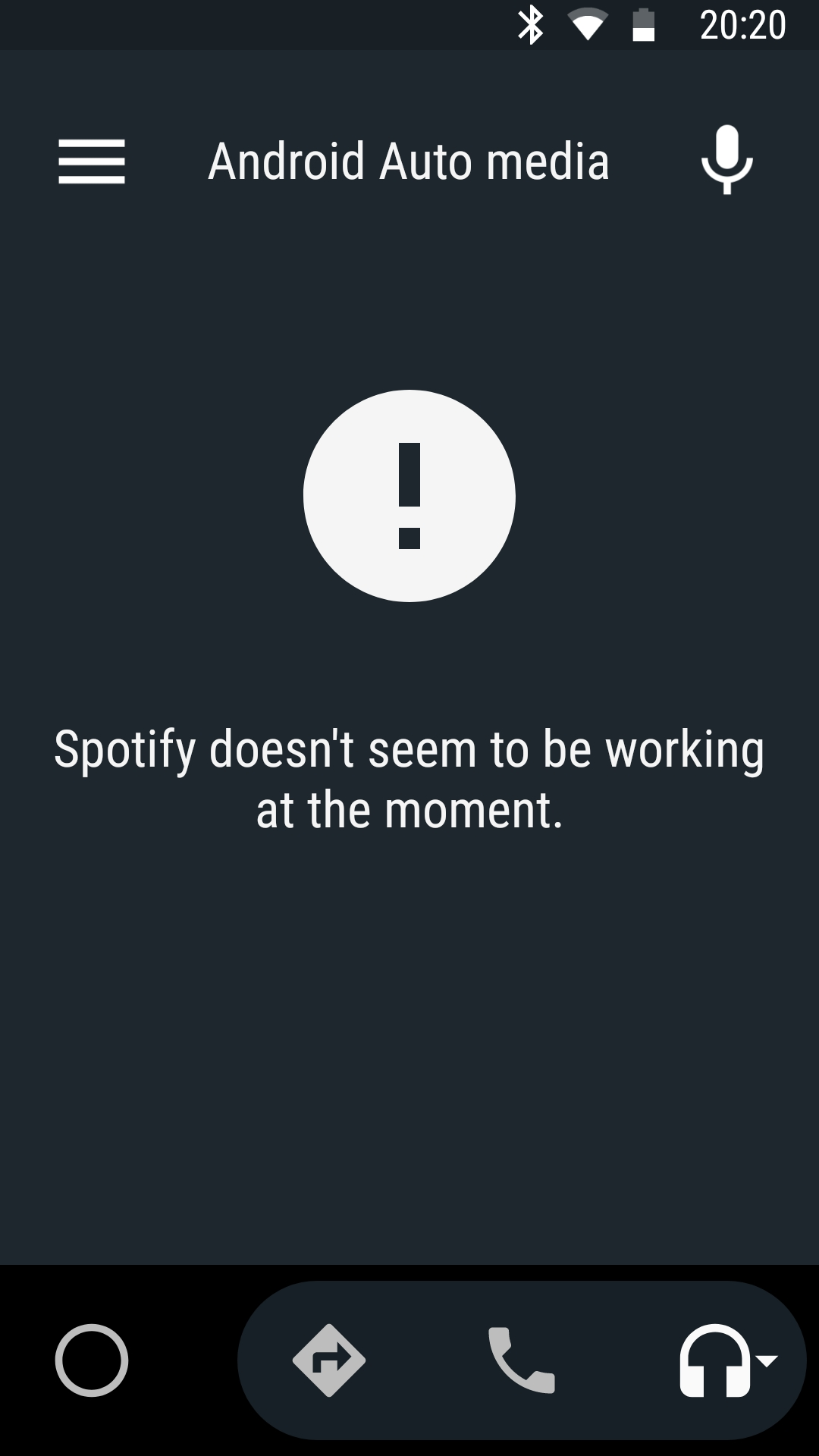Song plays for 5-10 sec on Spotify then an error message