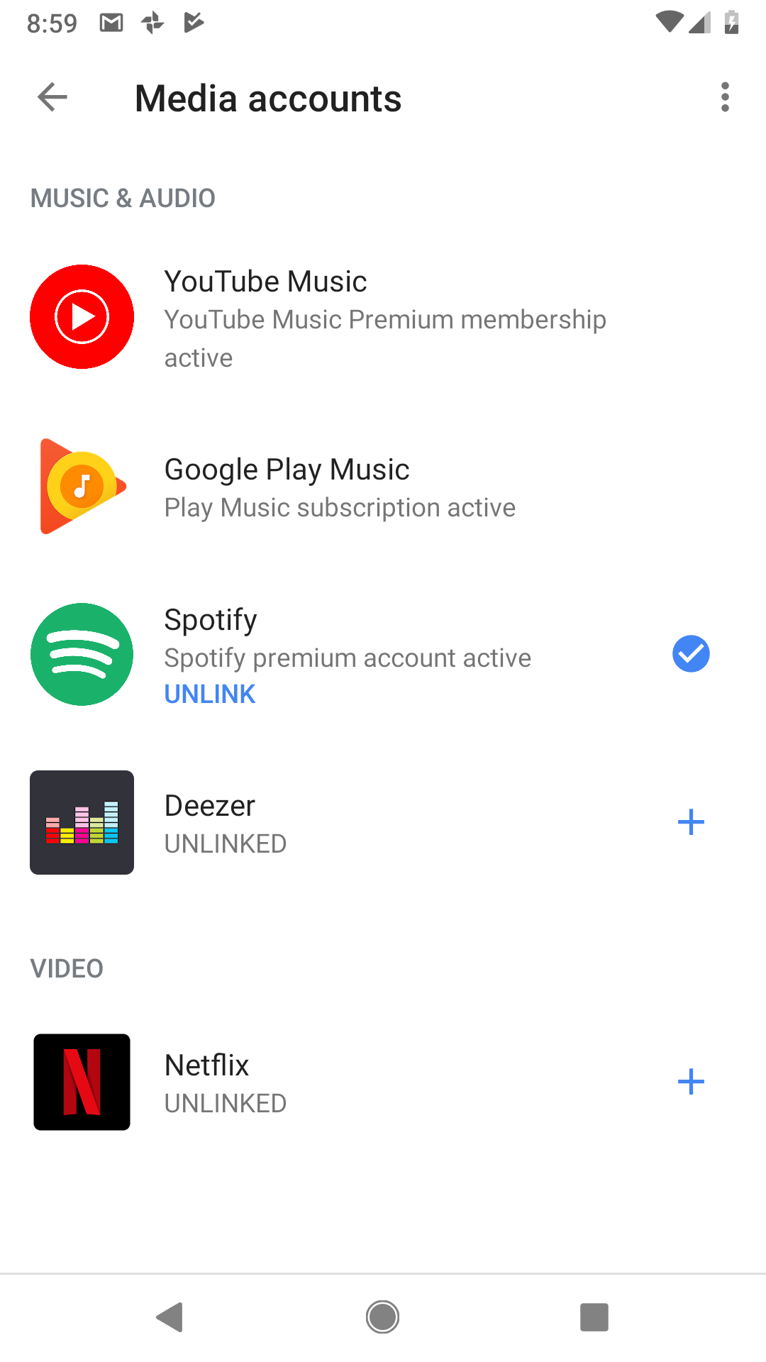 Cannot Play Music From Any Service - Google Assistant Help
