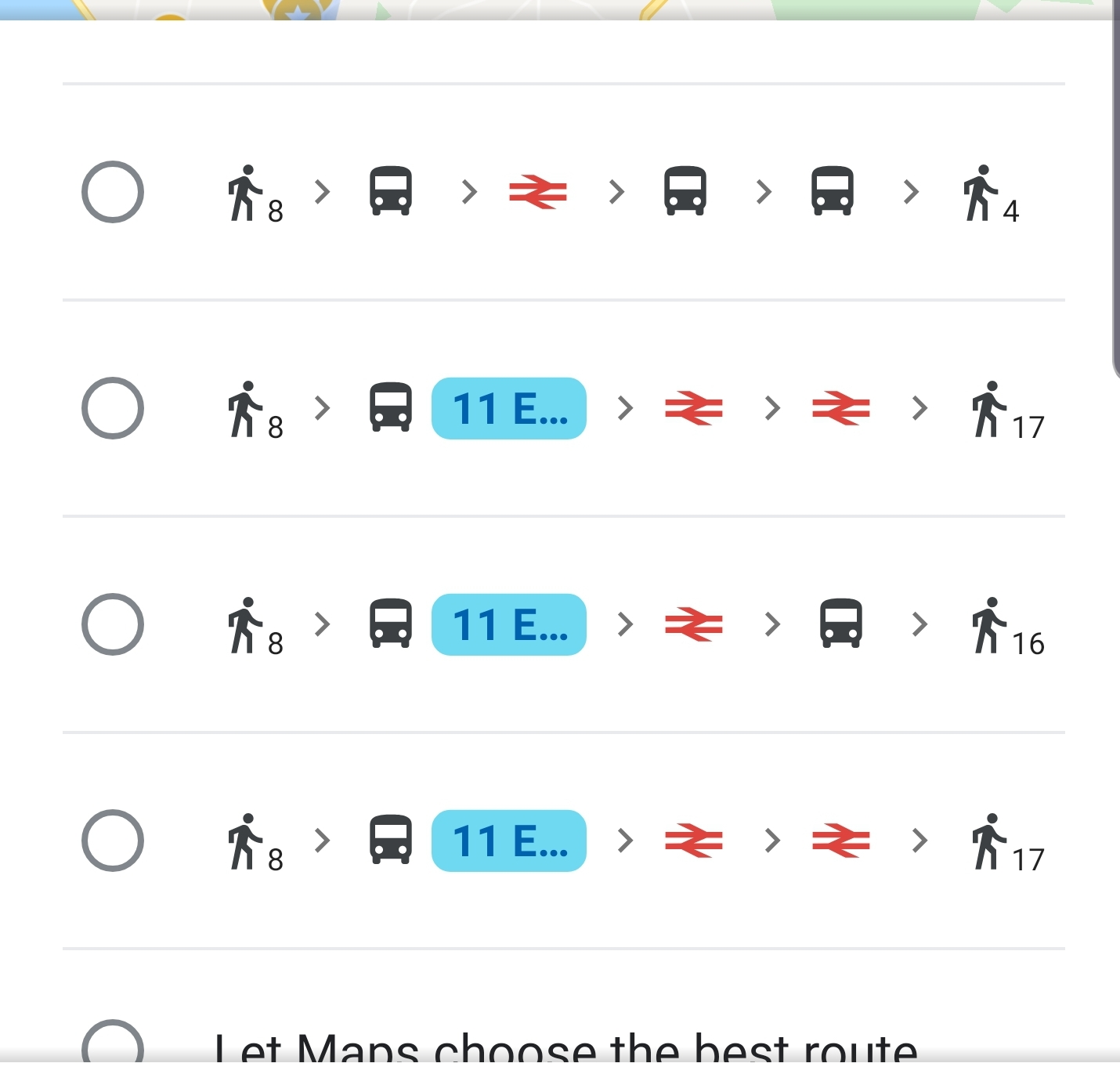 How can i change a bus commute to walking. All options show ... Google Map Directions Public Transportation on google maps bicycle routes, google maps by car, google maps traffic cameras,