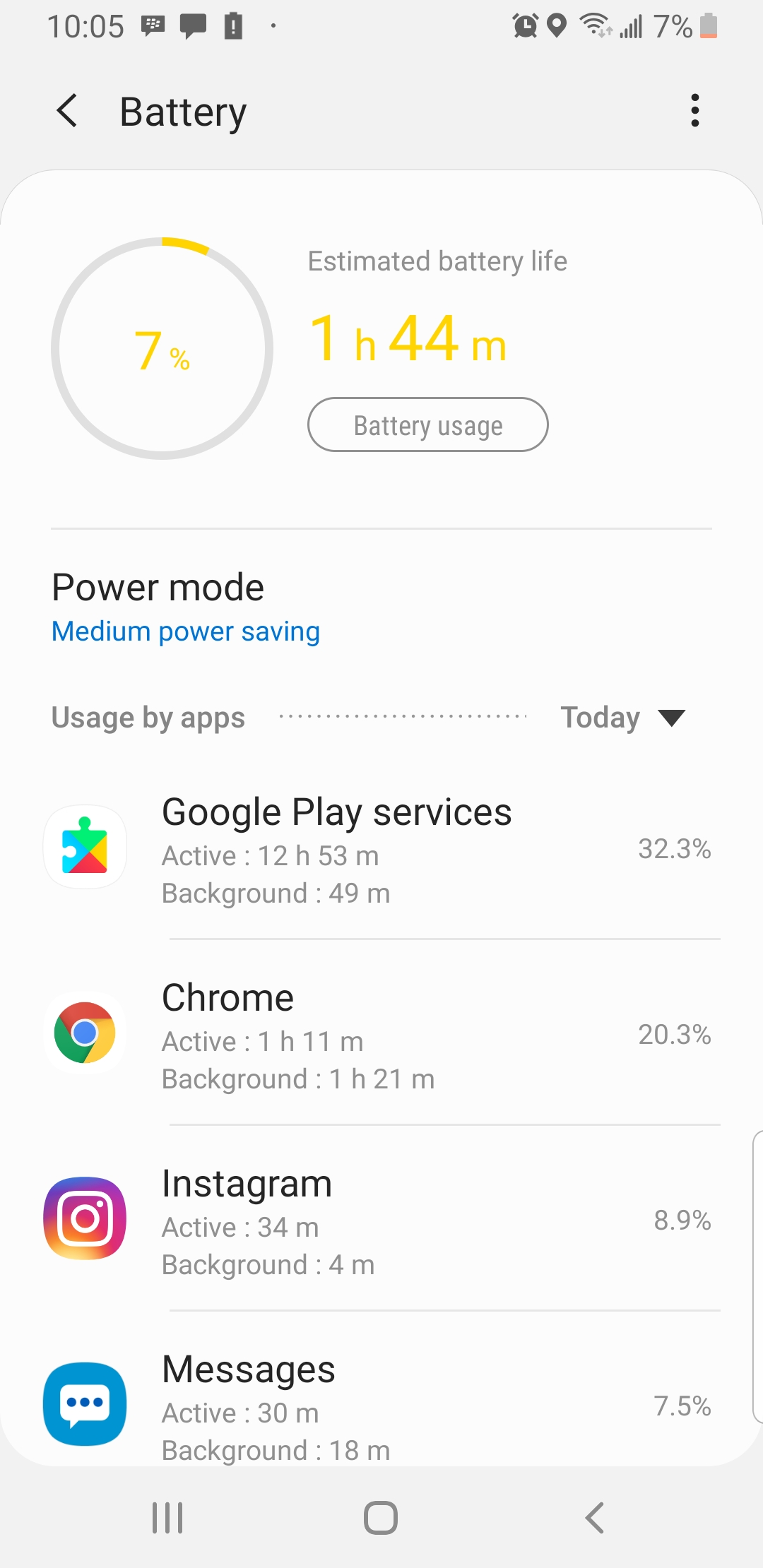 I just set up my google home mini today. I had to charge my phone twice  today alone. How do I fix it - Google Nest Community