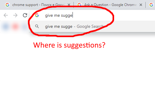 Live Search Suggestions In Address Line Omnibox Google Chrome Community Have you got any brothers or sisters? google chrome