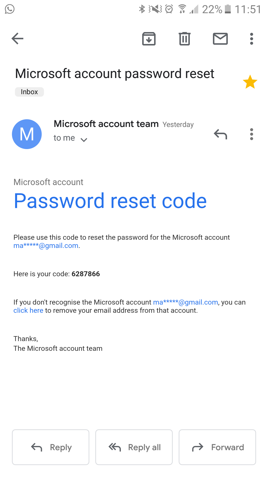 how do i change my microsoft password if i forgot it