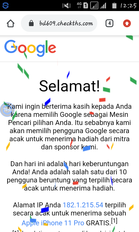 Hi Saya Mendapat Hadiah Dari Google Berupa Hp Sebuah Apple Iphone 11 Pro Bagaimana Cara Mengklaim Gmail Community