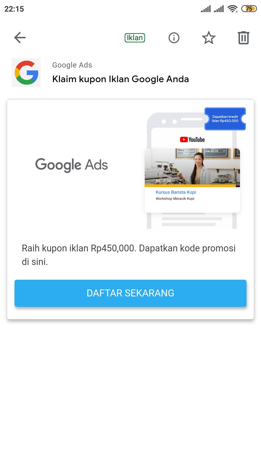 Iklan Pengeringan Raih Iklan Kupon Apa Google Ads Community