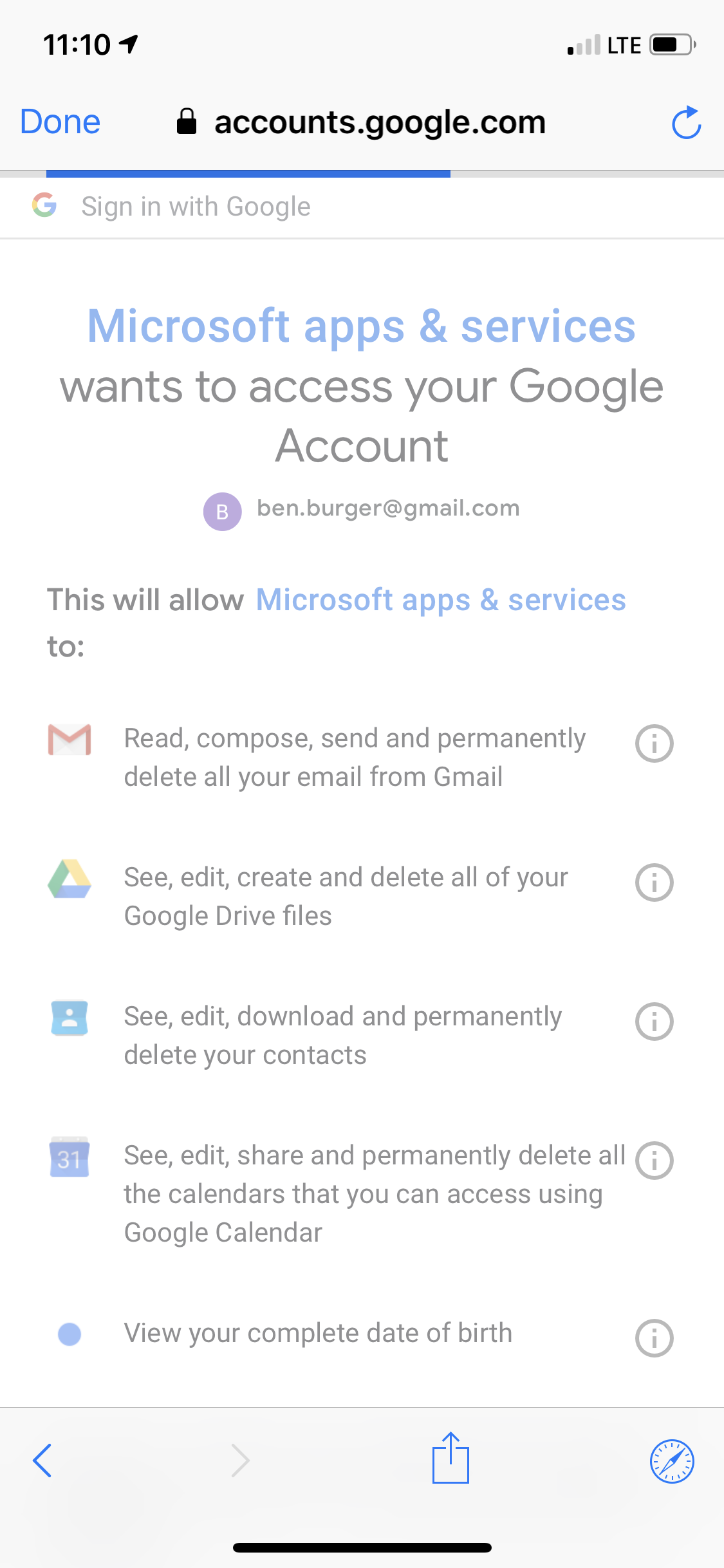 Setting up Gmail on Outlook for iPhone stalls - Gmail Help