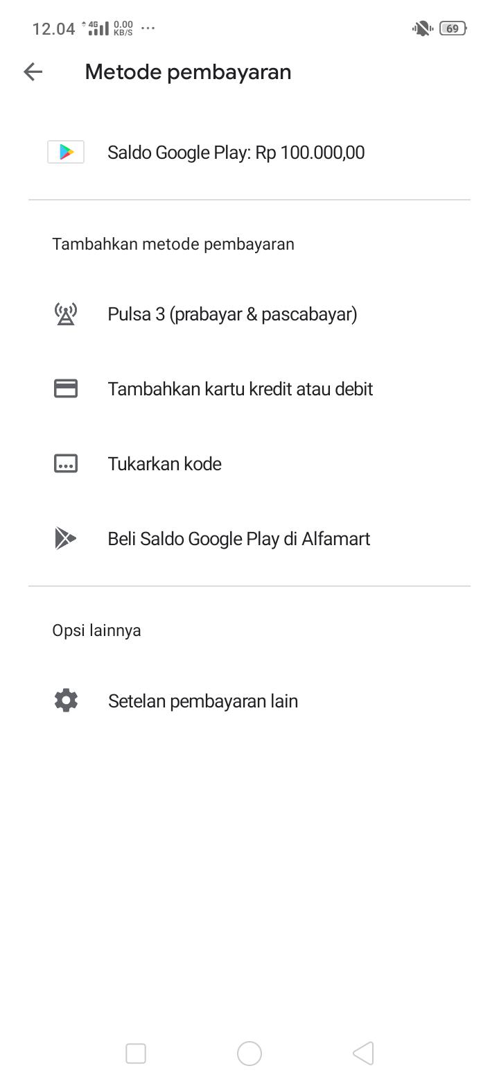 Penarikan Tunai Dari Saldo Play Store Komunitas Google Play