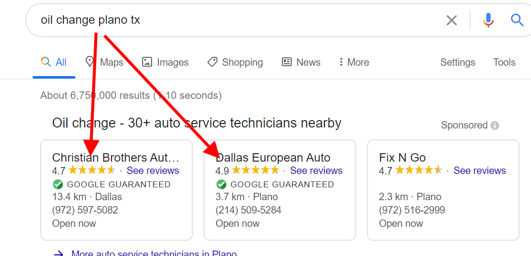 No Auto Repair Category For Google Guaranteed Program Google Ads Community
