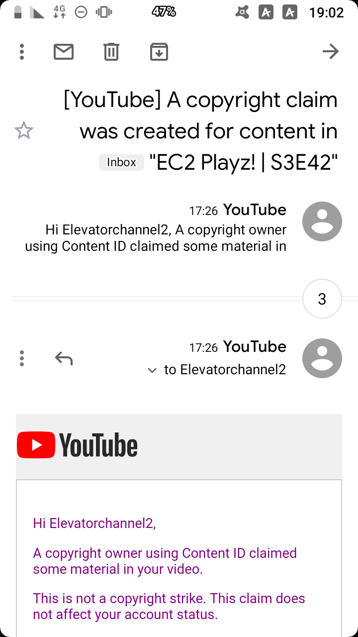 I keep getting nonsense copyright claiments - YouTube Help