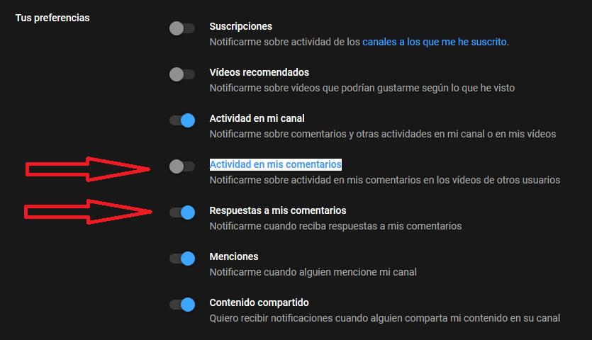 Diferencia Respuestas A Mis Comentarios Y Actividad En Mis Comentarios Youtube Community