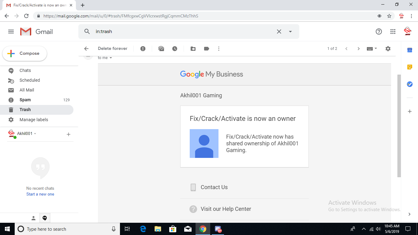 Can i change my gmail address on youtube