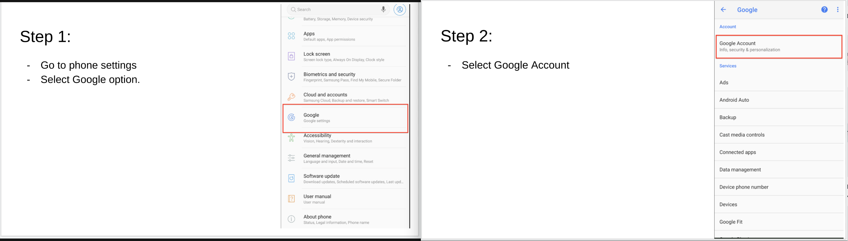 Tips on how to recover your Google account that were still