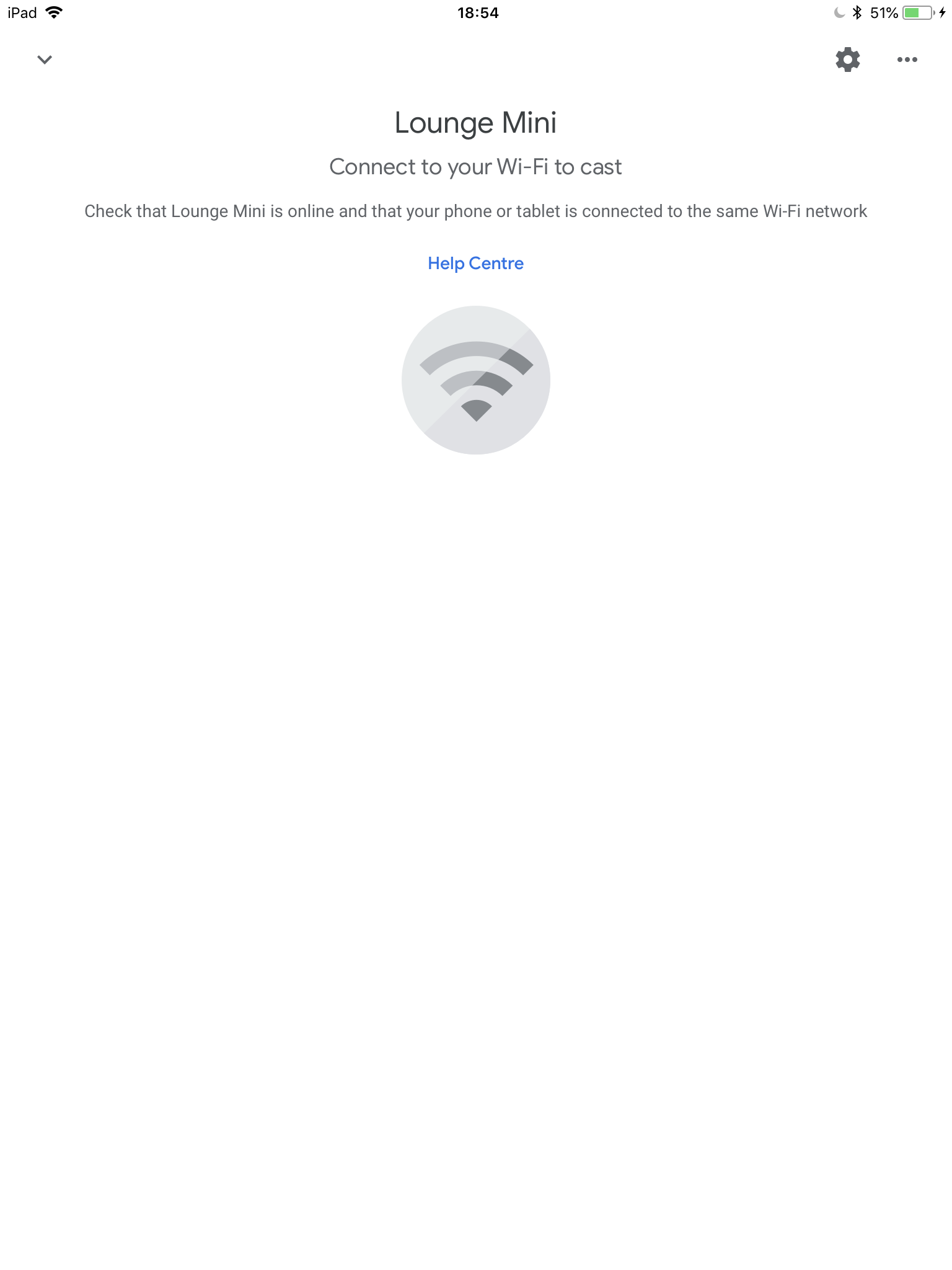 In Home app devices not connected to Wifi - Google Home Help