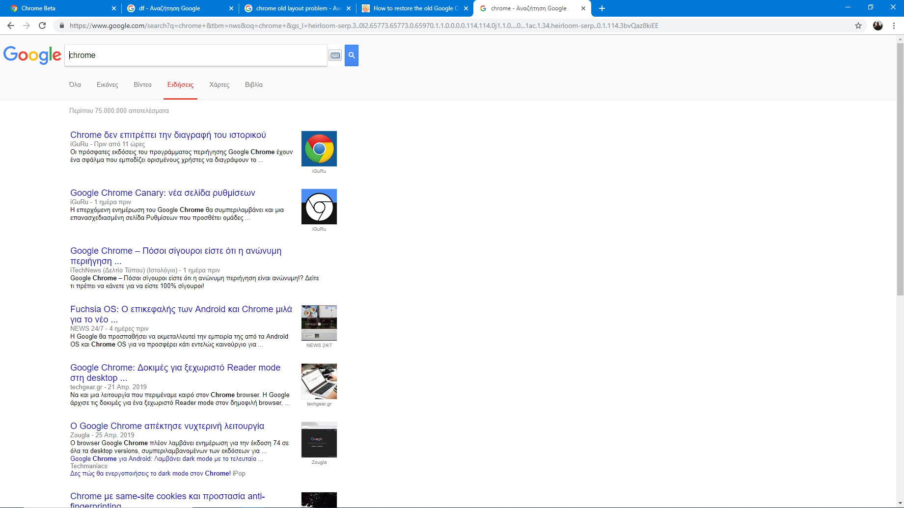 Why am i seeing chrome like this? - Google Chrome Help