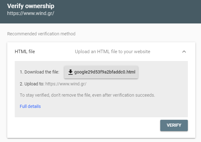 I Can't verify my website in Google Search Console - Search