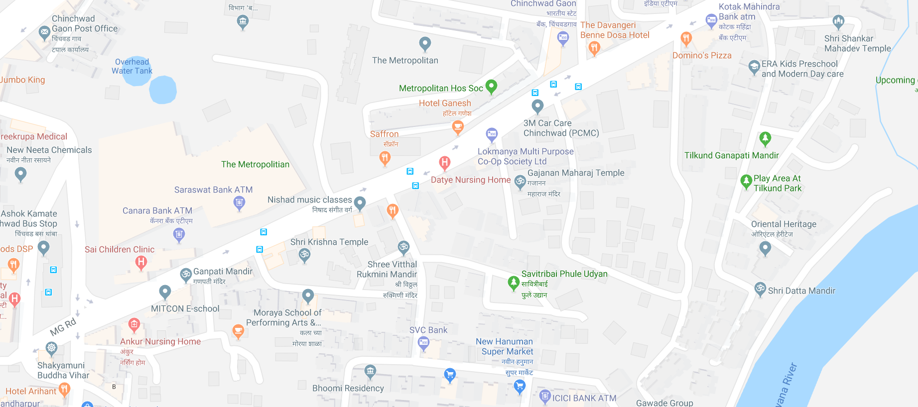 Maps Of Pune I want Pune District Map scale of 50m, how can i get that full map