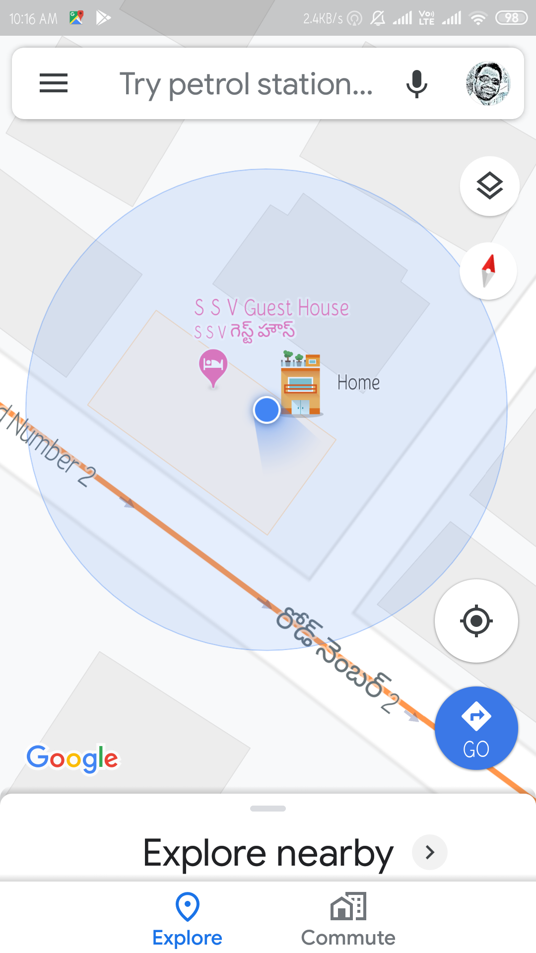 Incorrect place marked on my home - Google Maps Help on