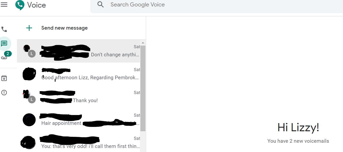 Error Loading Conversations Please Try Again Can T Load Data Check Your Connection Google Voice Community