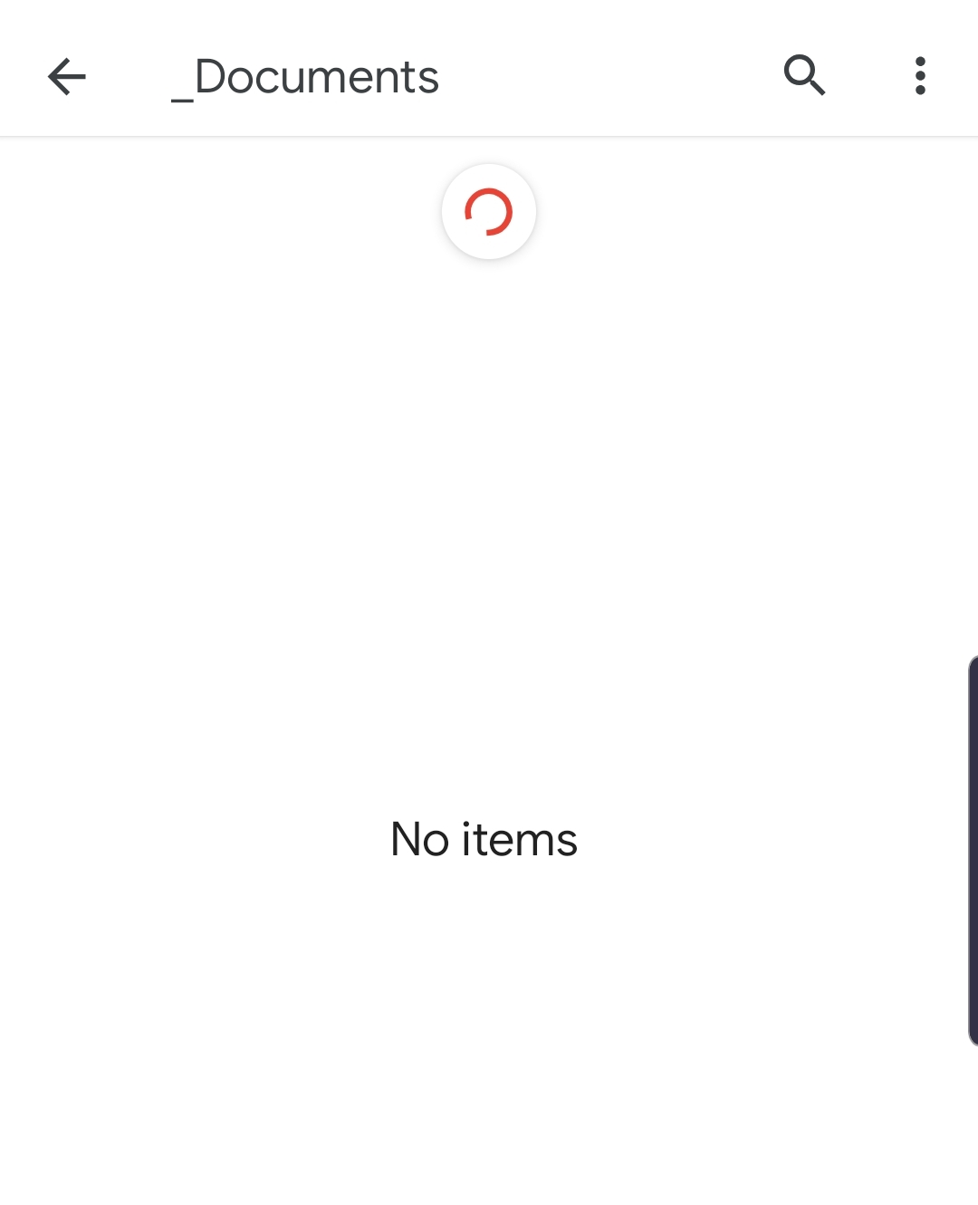 Galaxy S10, new files not showing unless you clear app data