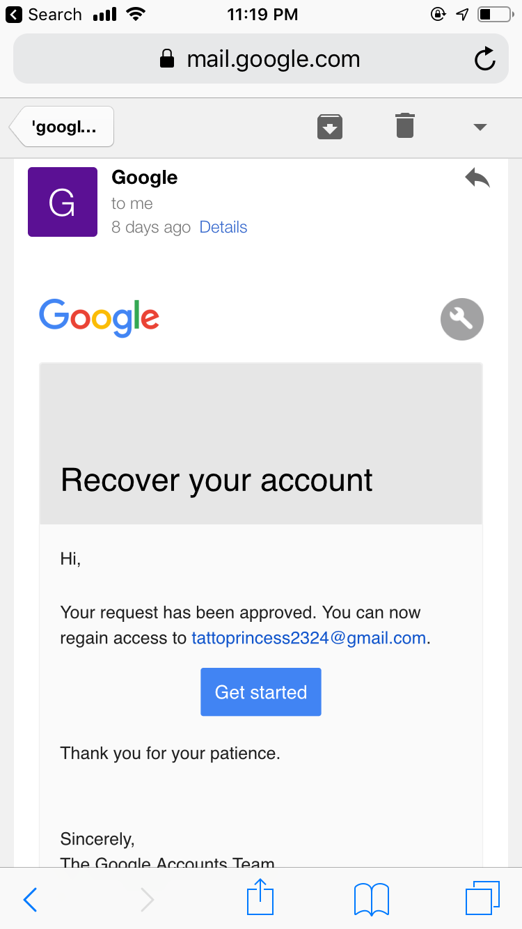 I need to recover my hacked account - Google Account Help