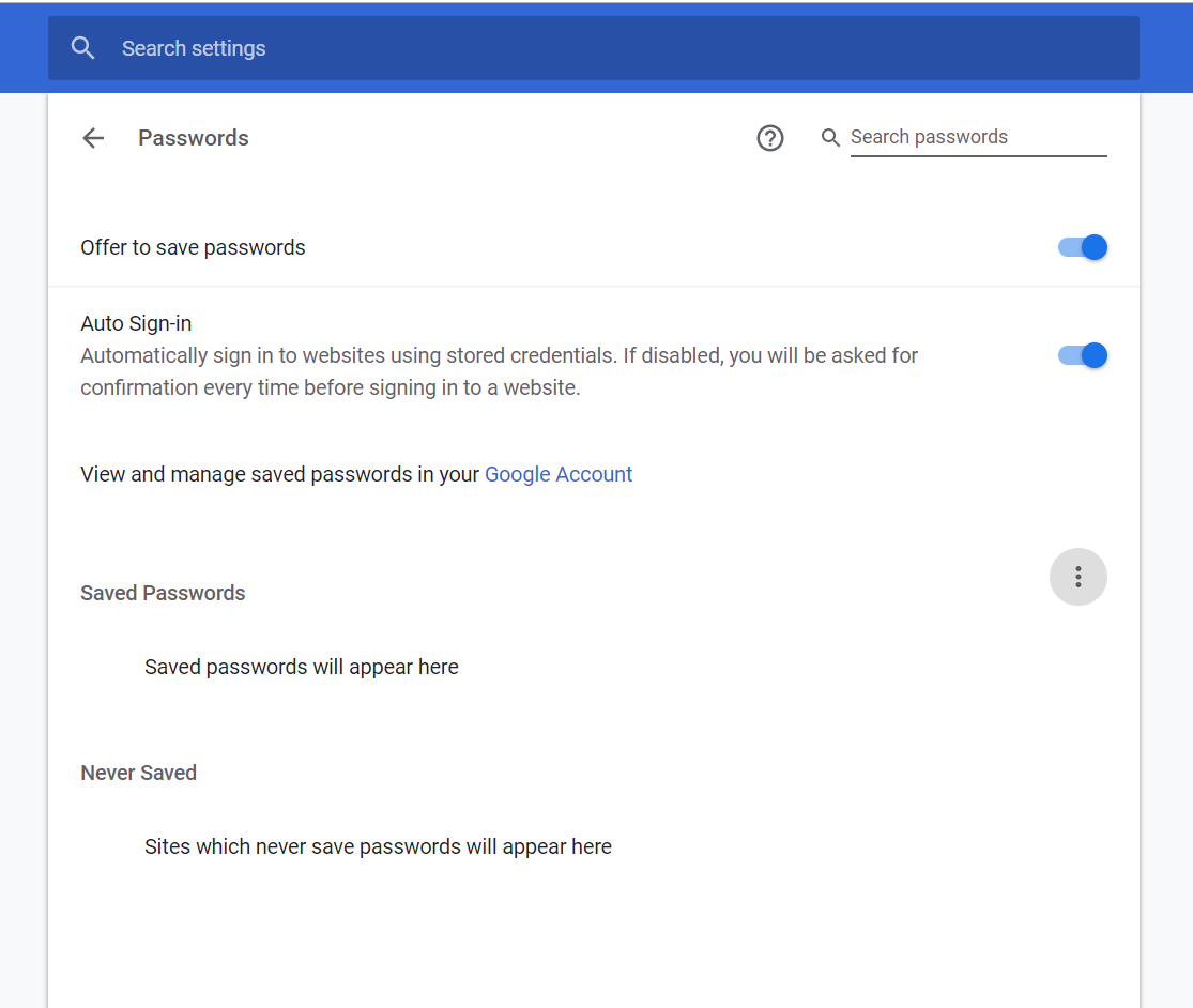Password Import not working  - Google Chrome Help