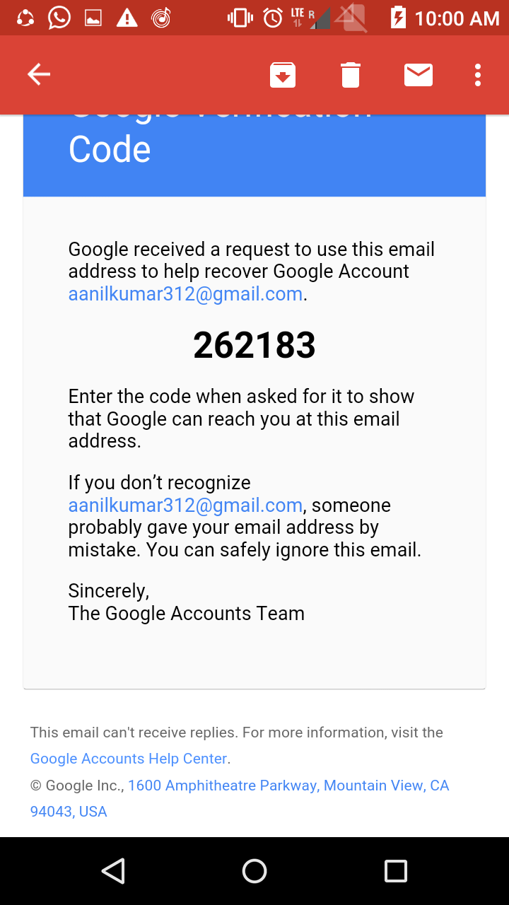 I can't sing in my account, i have forgot password  - Google Account