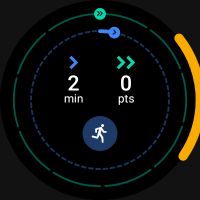 Orange bars on all watch screens - Wear OS by Google Help