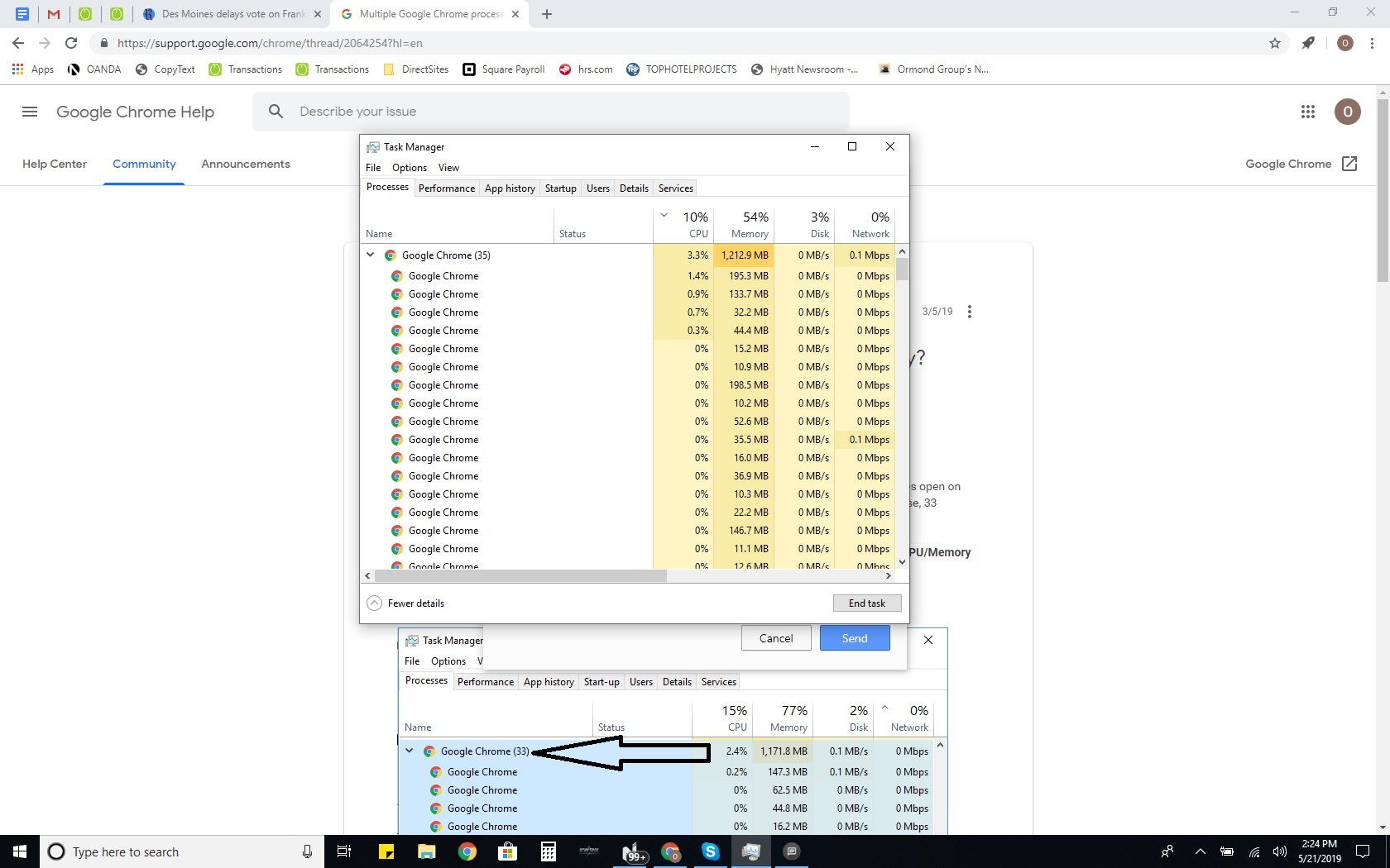 Why is Google slowing my computer down so much? - Google