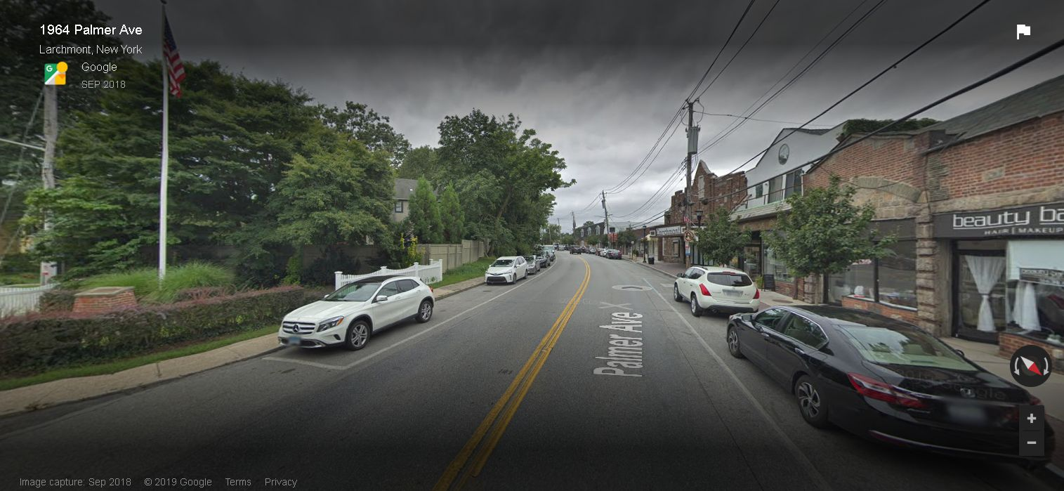 Street View 'See Outside' black shadow bars are infuriating