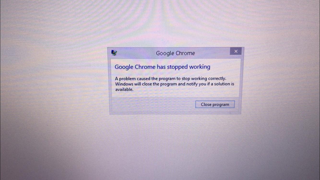 Google Chrome Crashing on Startup - Google Chrome Help