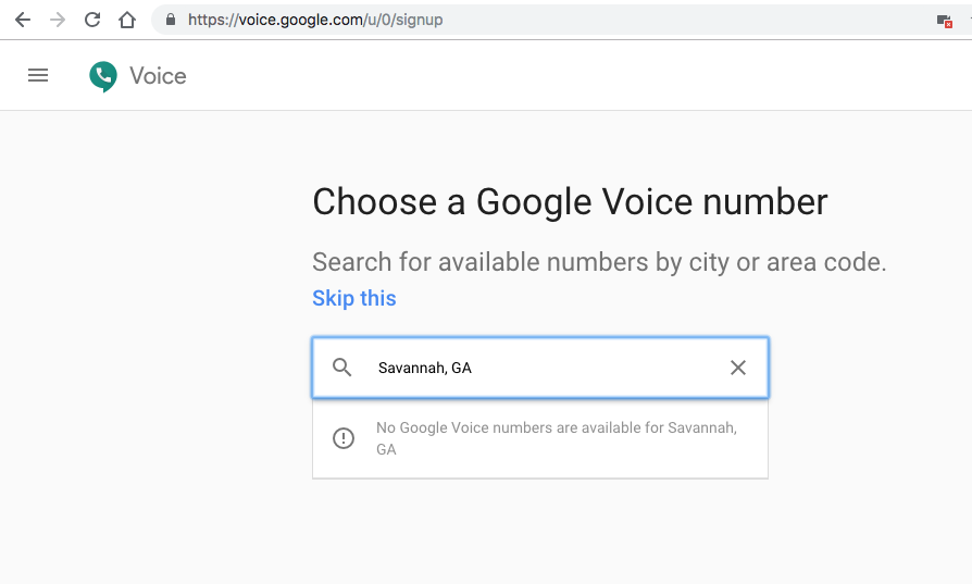 How to get google voice numbers?