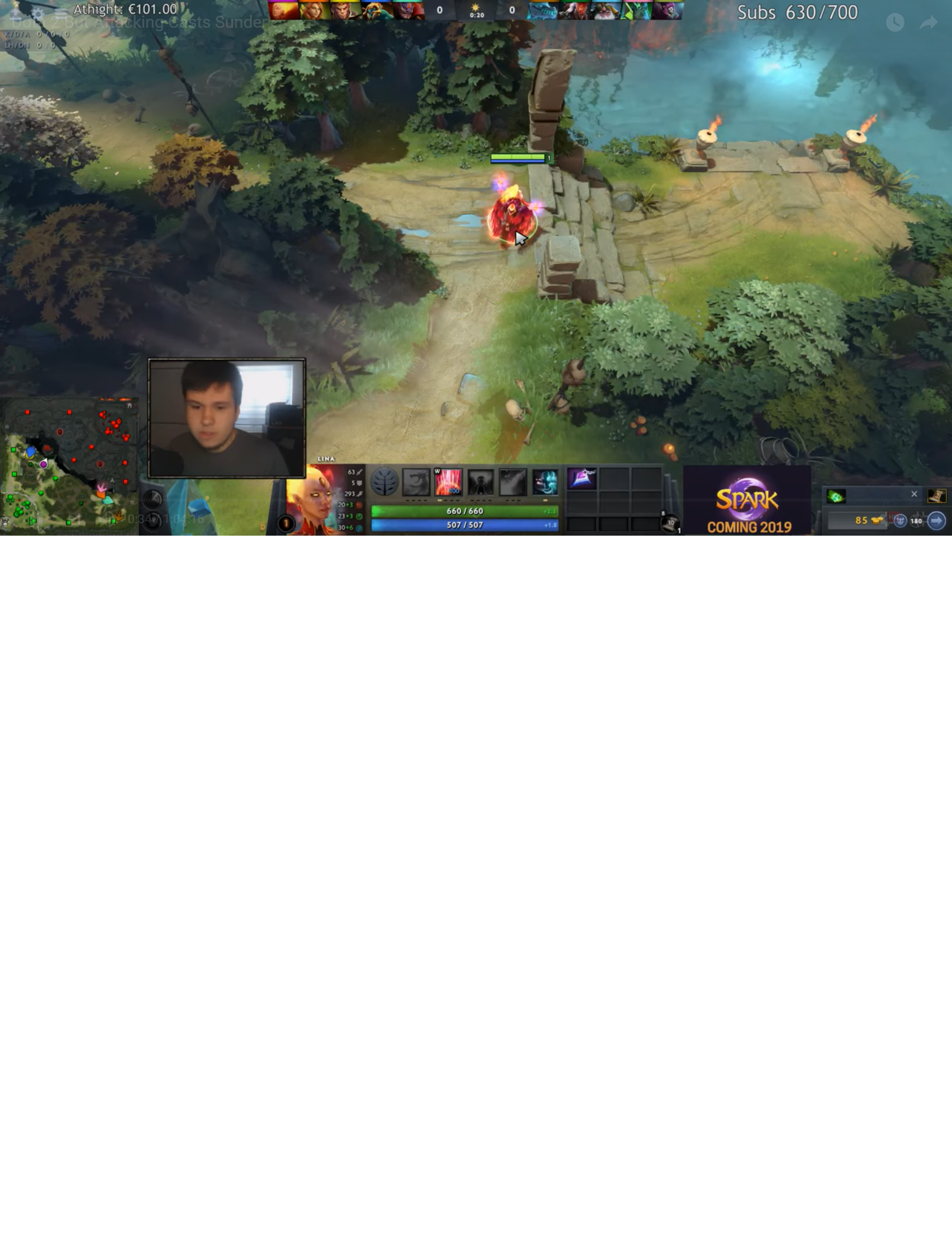 Youtube overlay never full disappears it only ever fades slightly