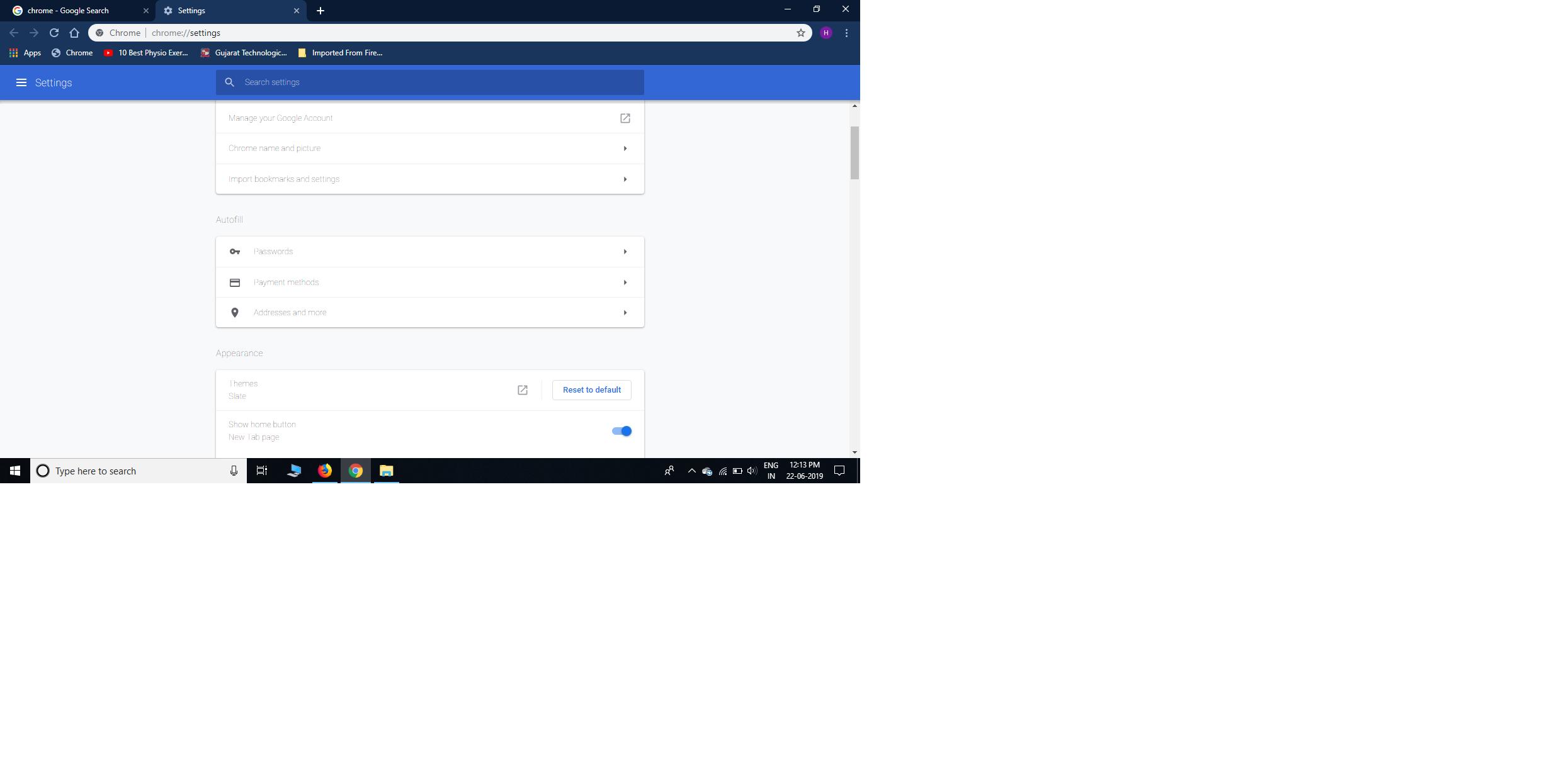 light gray text in chrome - Google Chrome Help
