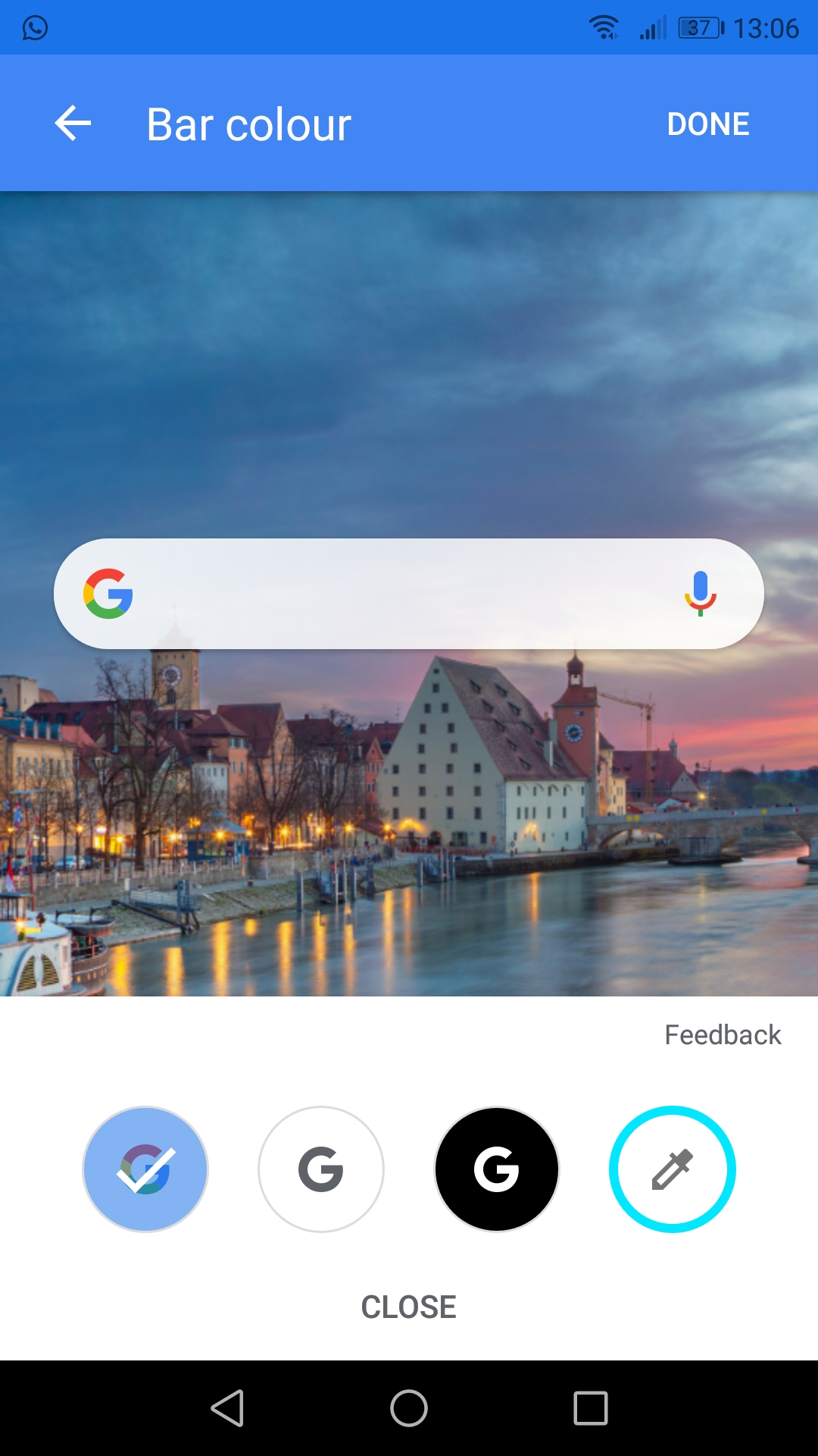 Google search bar got black - Google Search Help