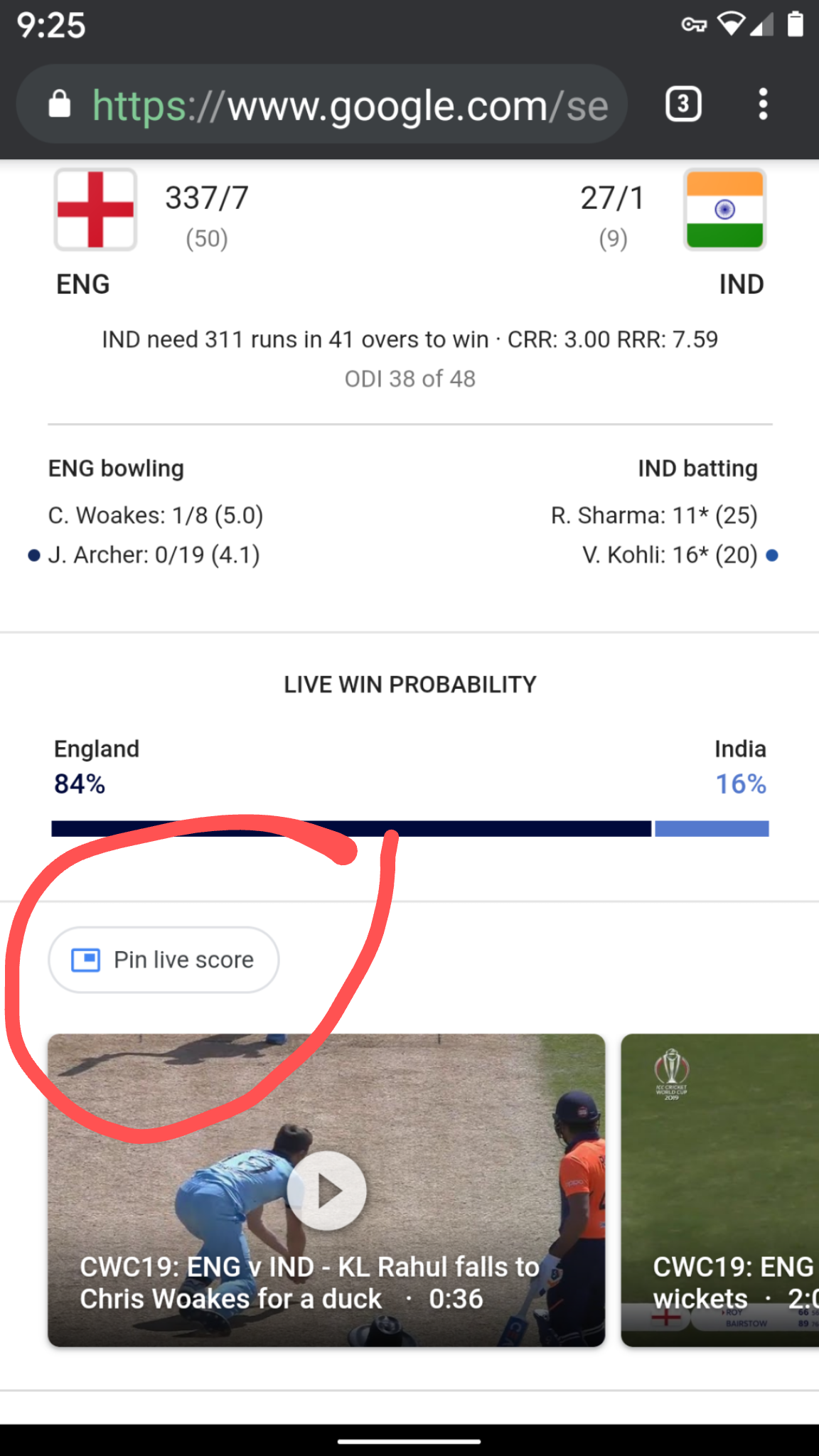 Pin live score redirects to firebase page Invalid Dynamic Link ...