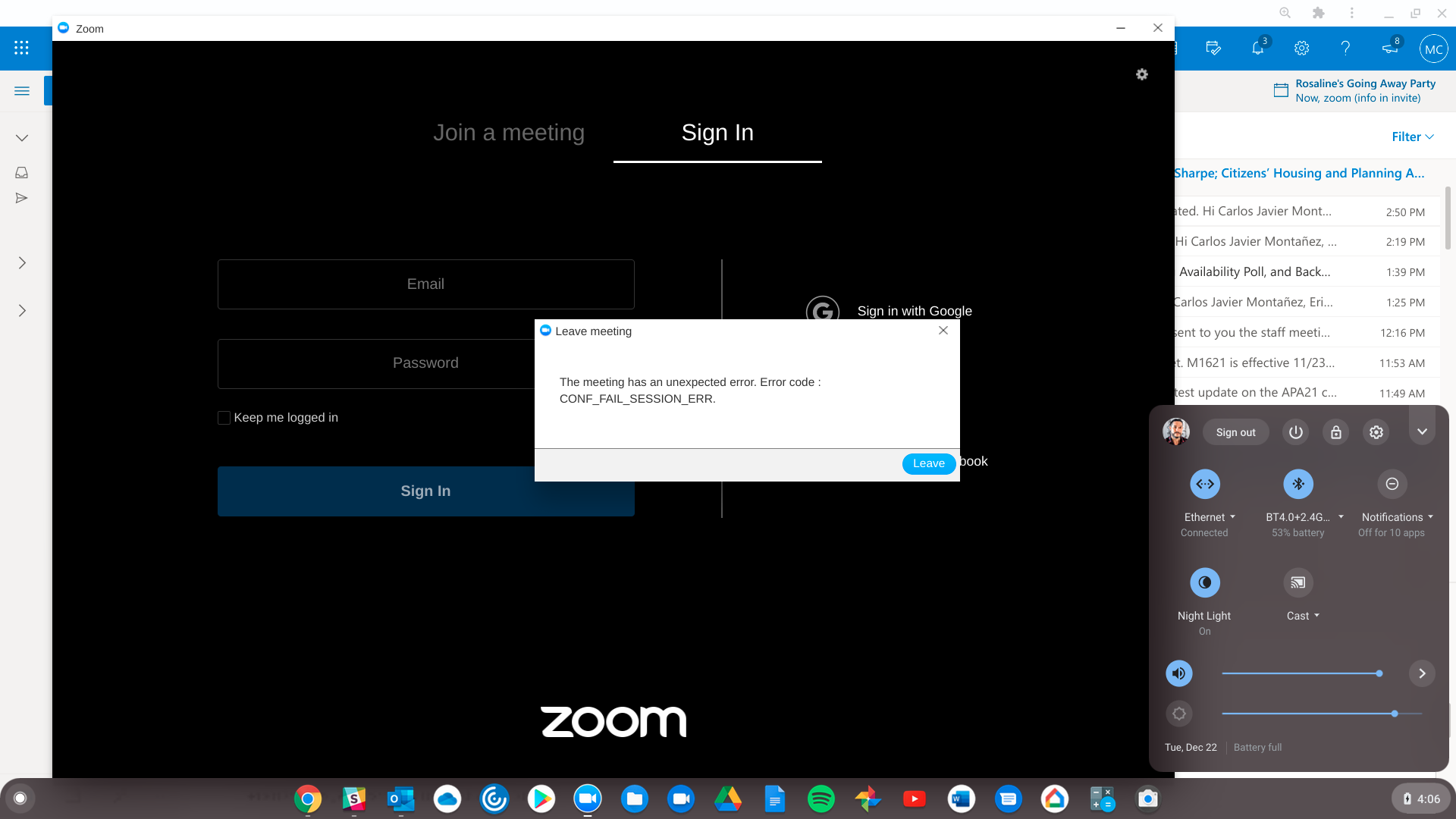 Zoom os