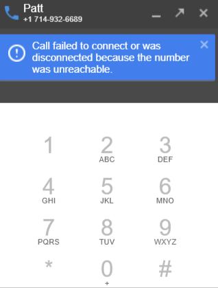 Google Hangout Phone Call Questionl - Hangouts Help